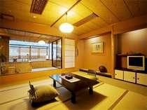 たまには専用露天風呂でのんびりと【讃水館】露天風呂付客室