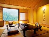 【飛天館】スタンダード和室(12.5畳)どのお部屋も趣きのある数奇屋づくり風です。