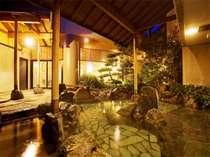 讃水館・1階・大浴場・かぶきの湯・露天風呂
