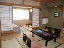 畳でゆったり 寝るときはやっぱりベッドがいい  ◆ 和洋室 ◆