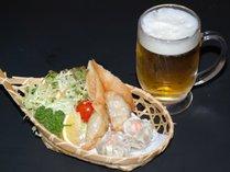 ビールセット(夜食プラン)