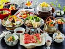 女将特選2016(秋)~オリーブ牛のすき焼き、松茸土瓶蒸し、鯛素麺
