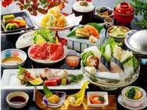 旬彩2016秋冬~香川県産牛蒸ししゃぶ、瀬戸内鰆魚すき鍋