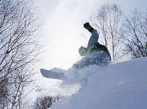 スノーボードで爽快に滑ろう♪♪