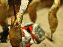 囲炉裏ダイニング アユの塩焼きイメージ