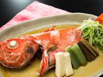金目鯛の煮付け伊豆といえば金目鯛!金目鯛をリーズナブルにお愉しみ頂けるプラン充実