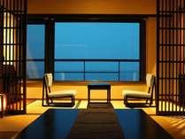 「夕なぎフロア」高層階からの絶景や、かがやく朝日をお楽しみください♪