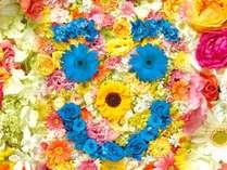 淡路花博2015 花みどりフェア入場券&淡路の人気お土産つきプラン●夕食は会席料理●