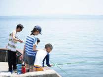 プライベート釣り場で釣り体験