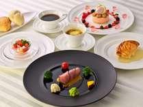 ■フランス料理のコース(イメージ)最上階のレストランでオシャレに。