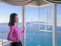 """明石海峡大橋を部屋から見下ろす""""プレミアム""""な体験、これこそまさに【感動】"""