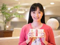 ロビーショップで一番人気♪甘くてプルルン『神戸プリン』をお土産にいかがでしょうか?