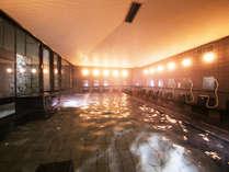 広々ポカポカ、男女別大浴場もご用意。足を伸ばして入る大きなお風呂で、旅の疲れを癒しましょう♪