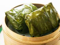 中国料理コース『二胡』料理一例。中国料理といったら蒸し物♪ジャーンジャーンと鐘が聞こえそう♪
