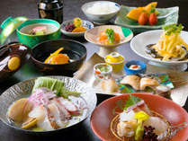 """季節の食材の美味しさを""""最大限""""に引き出した、日本料理の神髄。料理長自慢のコース『有栖川』"""
