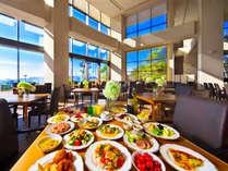 ■橋を望む開放感で迎える朝食■人気の朝食ブッフェ★四国とひょうごの架け橋だからこその食材がお出迎え