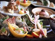 ◆【夕食例】宮崎ならではの食材や、日南で獲れた海の幸をふんだんに使用♪