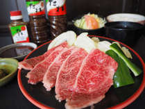 【日南グルメ ×1泊3食 焼肉定食ランチ付】『堀川レストランとむら』で秘伝のタレとこだわりの肉を★