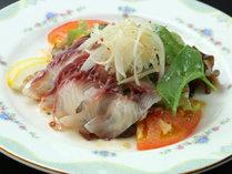 ◆【ご夕食一例・単品】郡山名物鯉のあらいのカルパッチョ