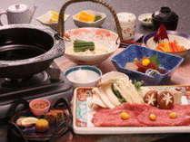 【牛すき鍋】※写真はイメージになります。