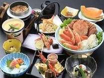 【当館人気】カニ好きの方注目!!タラバ&ズワイ&毛ガニ♪カニ三味!皆さんでカニをご堪能ください☆