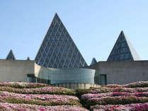 一年間の砂時計が有名な「サンドミュージアム」です。