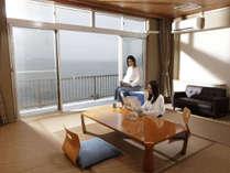 【レイクビュー和室】◆湖側の和室◆10畳