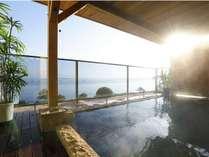 【4月リニューアル 露天風呂】日本夕日100選の夕日をお楽しみいただける見晴らしのよい露天風呂です♪