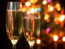【クリスマス限定】 高千穂で過ごすX'mas~デザートとグラスシャンパンで乾杯!