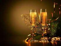 【クリスマス限定】 ~神仙で過ごす ゆったりと贅沢なX'mas~ボトルシャンパンとクリスマスデザート付