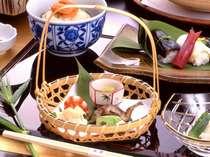 旬の京野菜提供店・・京料理会席一例