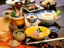 【お食事】スタンダード京料理会席 ※イメージ