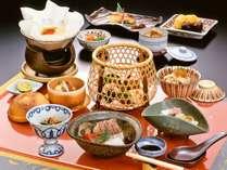 【お食事】秋季限定 京料理会席 ※イメージ