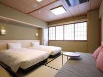 【和室ベッドタイプ】2019年2月リニューアル!和室にベッドを配置した和モダン客室