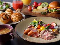 緑の地、鹿児島の食材を取り入れた、60種類以上の和洋食モーニングブッフェ