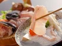 いまが旬!!◆冬季限定◆幻の魚くえの小鍋◆プルプルした身に旨味がぎゅっと詰まっていてまさに絶品