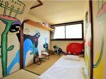 2階客室(artist minami shibata)