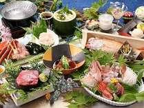 当館最上級のお料理をご提供いたします。(料理一例)