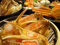 【カニ&温泉】【現金特価】カニ料理を一人分ずつ会席風に★カニ会席コース