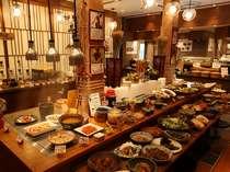 食と健康をテーマとしたブュッフェレストラン『あけびの実』