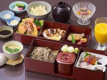 小さなお子様にも少しずつ日本料理の美味しさを楽しめる一品