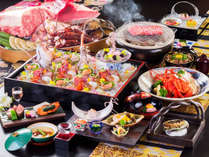 「A5ランクの松阪牛」をはじめ料理長が手掛ける繊細で丁寧な料理「全10品」