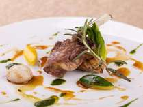 高級食材「オマール海老」にシェフ自慢のソースを添えて Soleil