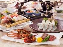 山海の高級食材を味わう特選和会席「木漏れ日会席」