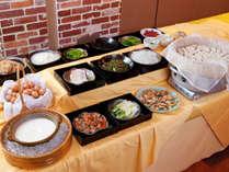 【朝食イメージ】朝は和食派という方も納得のラインナップ