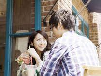 【カップル】恋人の聖地でアート散策デート♪朝食&共通商品券プレゼント