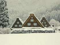 世界遺産「白川郷」一度は見てみたい、冬の幻想的な合掌造集落