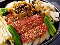 飛騨牛ステーキは自家製味噌で香ばしく焼き上げて(一例)