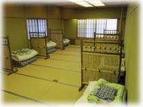 染物と宿の中島屋の和室