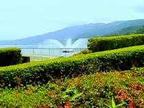 岡谷湖畔公園:諏訪湖で自然を満喫!天気が良い日は散策してみて下さい。